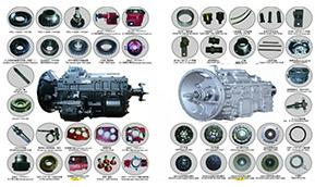 SINOTRUK & FAST Gearbox Parts