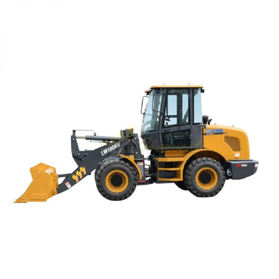 Chinese High Quality Payloader LW180KV Mini Front Wheel Loader 1.8 Ton