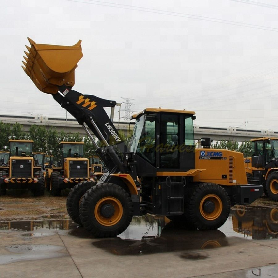 3 ton wheel loader LW300KV with log grapple