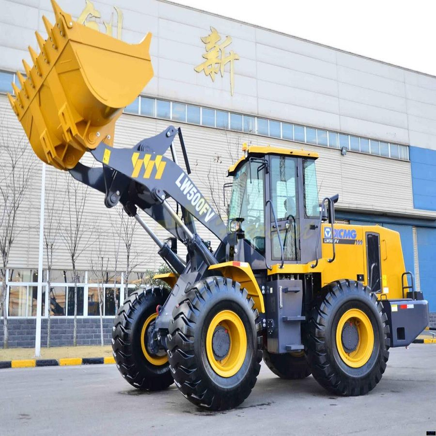 High Quality Loader 5 Tons Shovel Loader Hot Selling Wheel Loader LW500FV