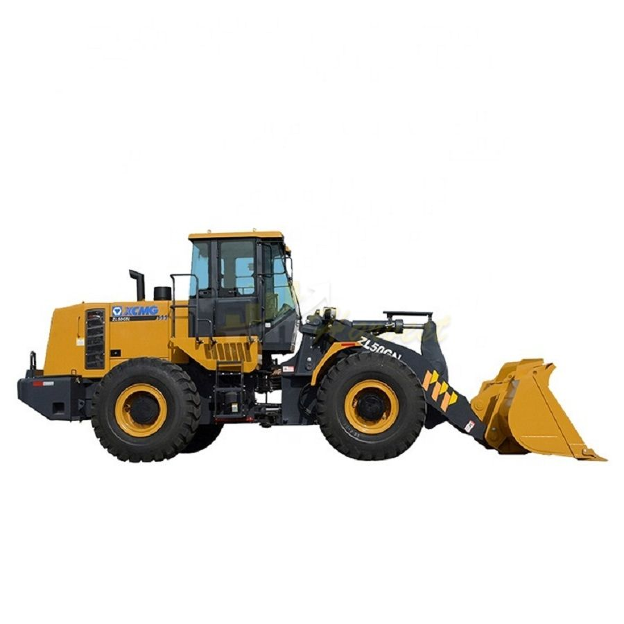 ​5 Ton 3cbm Front End Wheel Loader ZL50GN With Joystick, Weichai 162kW Engine