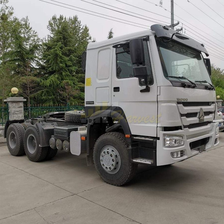 Sinotruk 6X4 420HP Right Hand Drive HOWO Prime Mover/Tractor Head