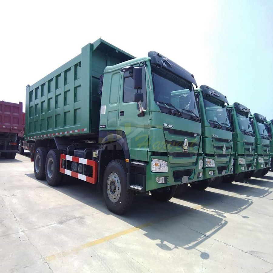 Low Price Sinotruk HOWO 6X4 371HP Dump Truck