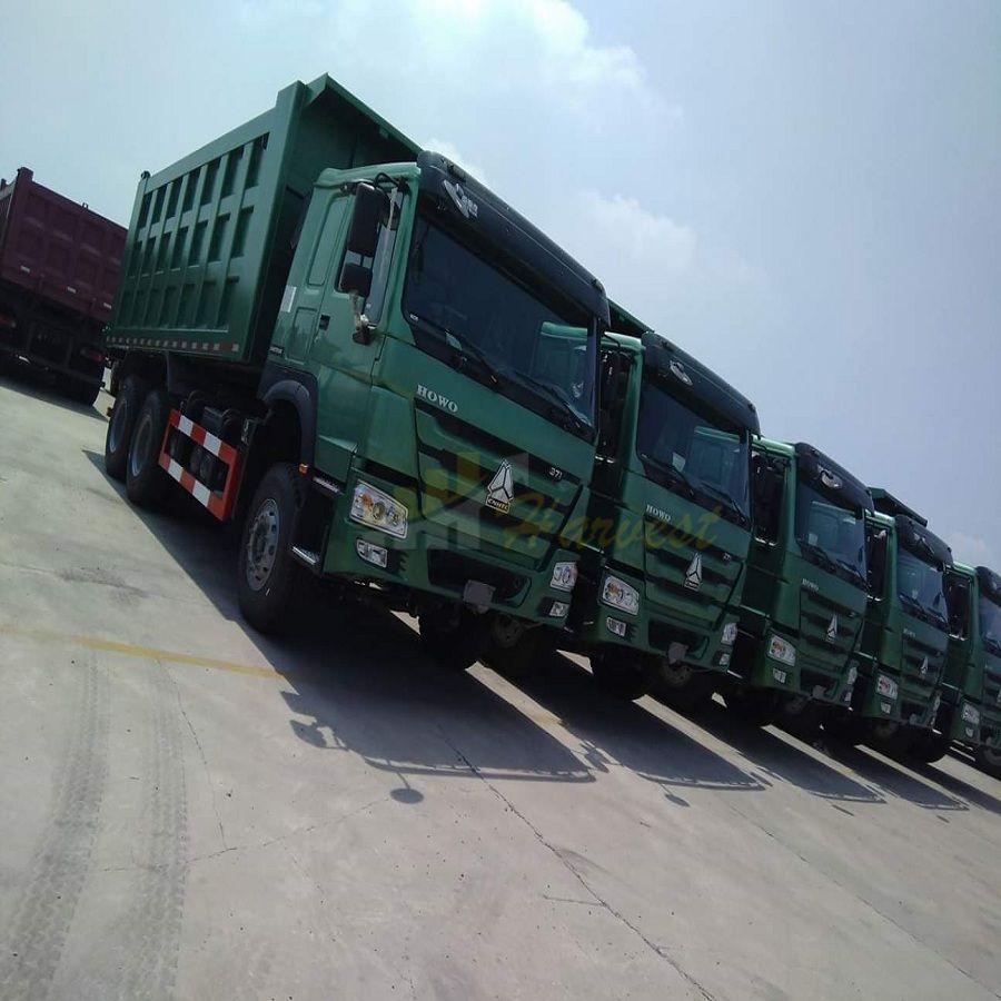 Low Price Sinotruk HOWO 6X4 371HP Dump Truck