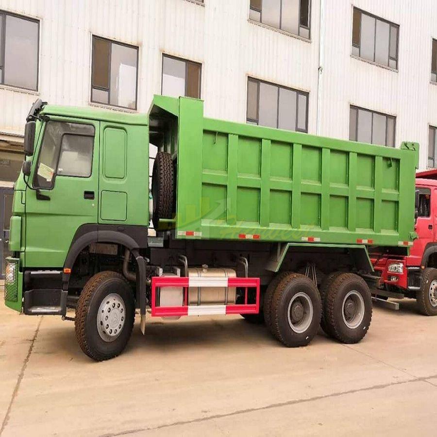 Sinotruk HOWO 6X4 Heavy Dump Truck , 10 Wheel Dump Truck