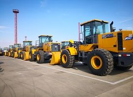 To Malaysia-6 Units XCMG 5 Ton Wheel Loader ZL50GN