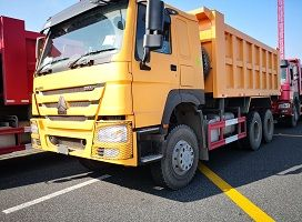 To Fiji- 1 Unit HOWO 6x4 371hp Dump Truck