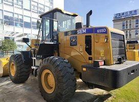 To Kenya-1 Unit Brand New SEM 5 Ton Wheel Loader 655D