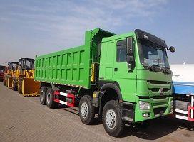 To Tanzania- 1 Unit SINOTRUK 40T 371hp Dump Truck
