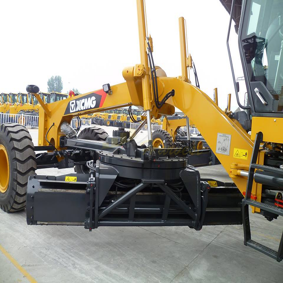 Motor Grader with Ripper and Blade
