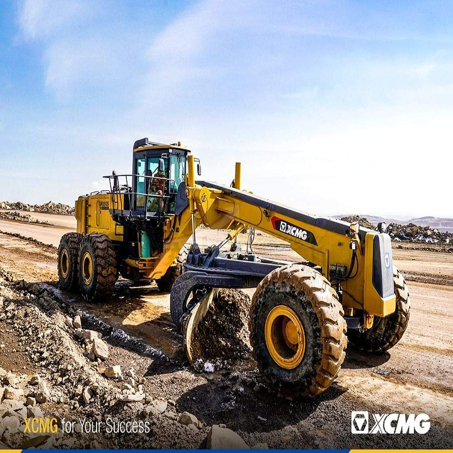 Overlarge Mining Motor Grader