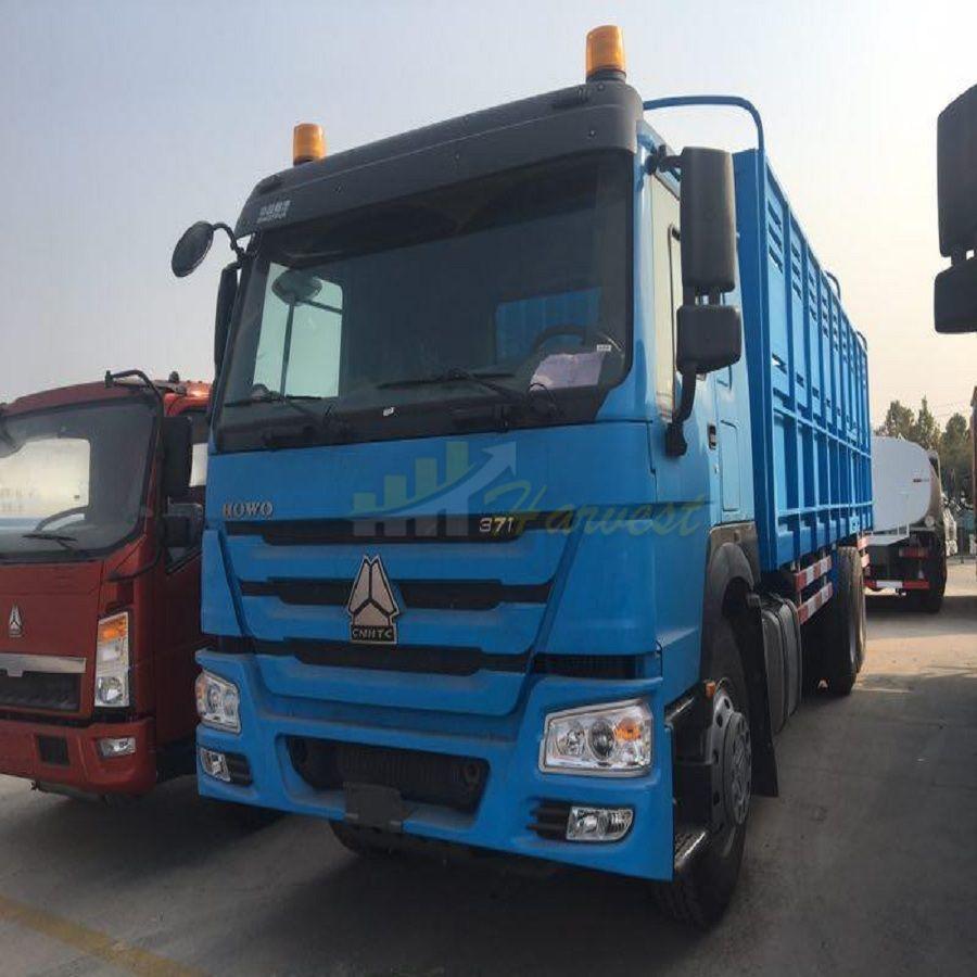 Sinotruk Howo Special Cargo Truck for Somalia Djibouti in Somalia
