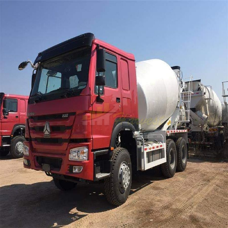 HOWO 8m3 Cement Mixer Truck 10 Wheelers 336HP Concrete Mixer Truck