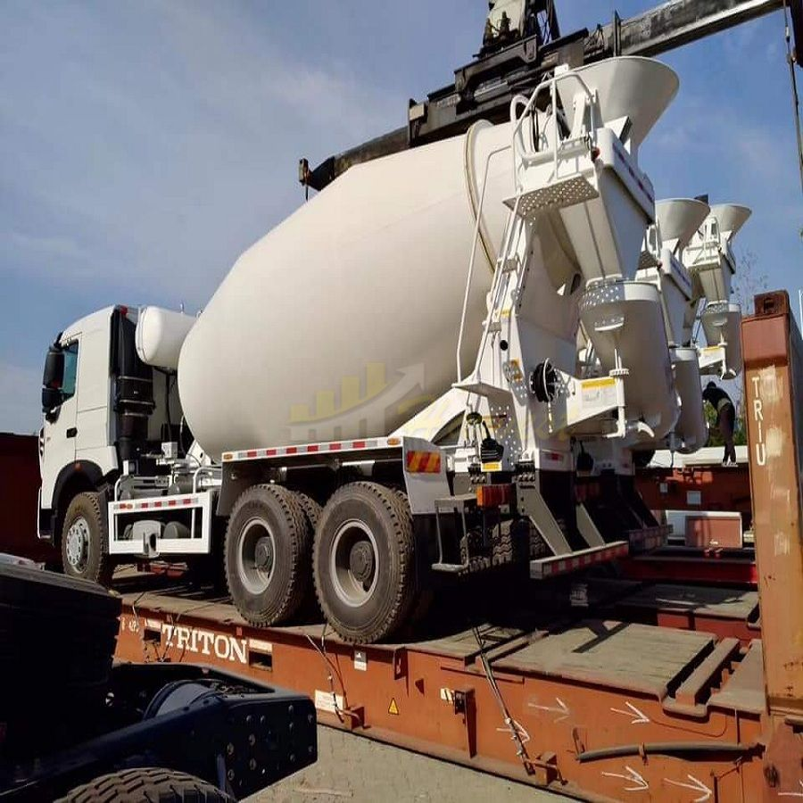 Sinotruk HOWO A7 6X4 10m3 380HP Mixer Truck