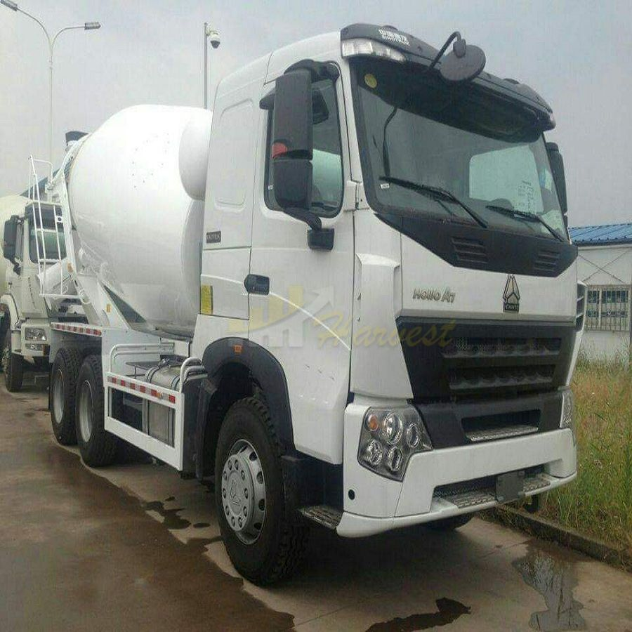 Sinotruk A7 10m3 6x4 Concrete Mixer Truck