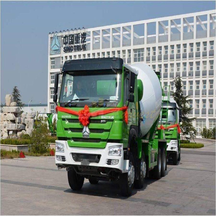 12m3 HOWO 8*4 Concrete Mixer Truck