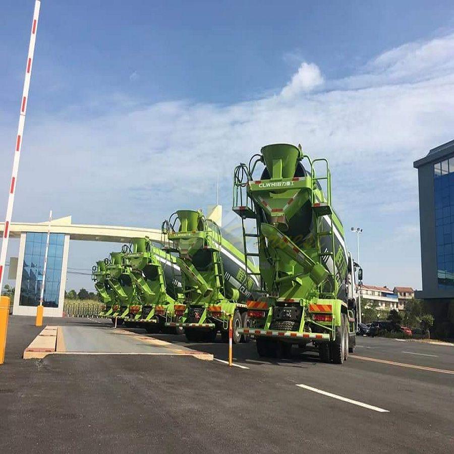 HOWO 10m3 380hp Euro 4 Concrete Transit Mixer Truck