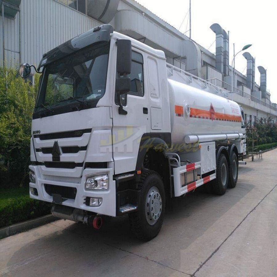 HOWO 290hp 20,000 Liters Fuel Tank Truck