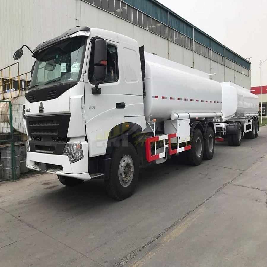 Sinotruk 6x4 A7 21,000 Liters Fuel Tank Truck