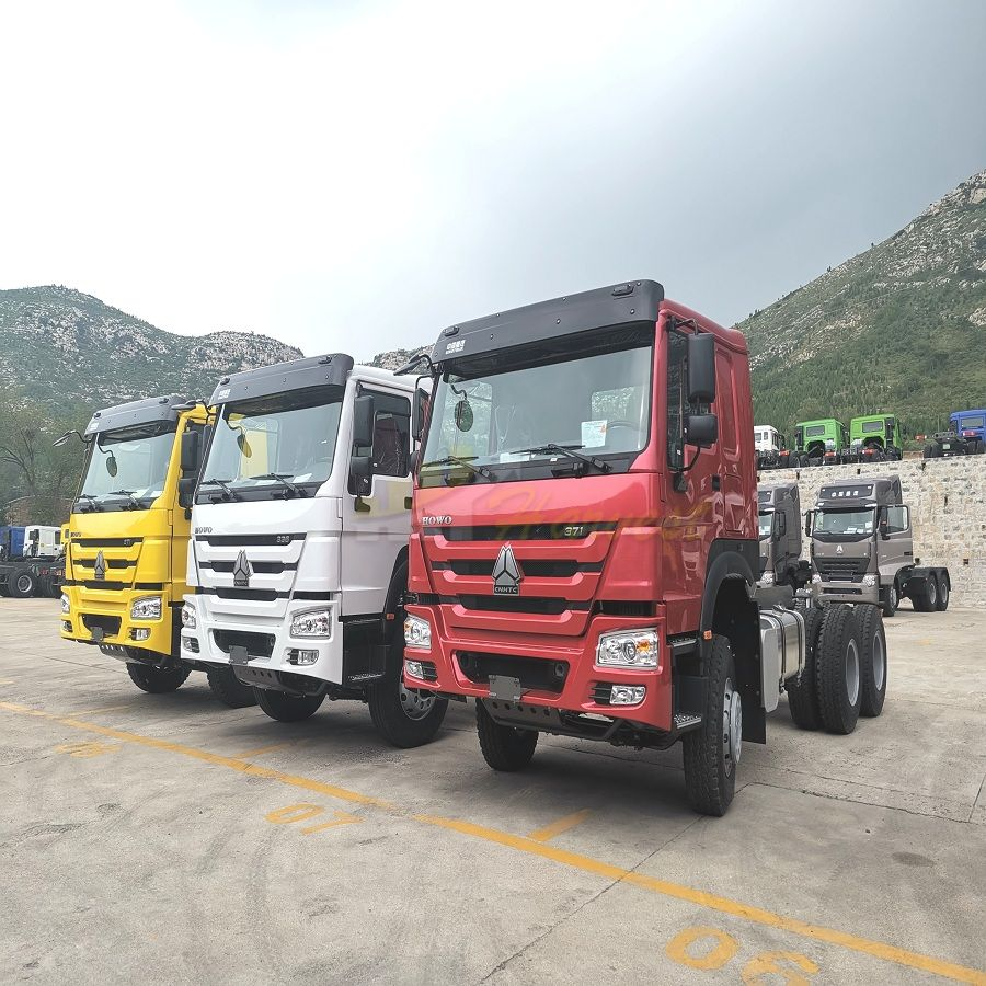 SINOTRUK HOWO 371hp 6X4 Tractor Truck/Tractor /Prime Mover