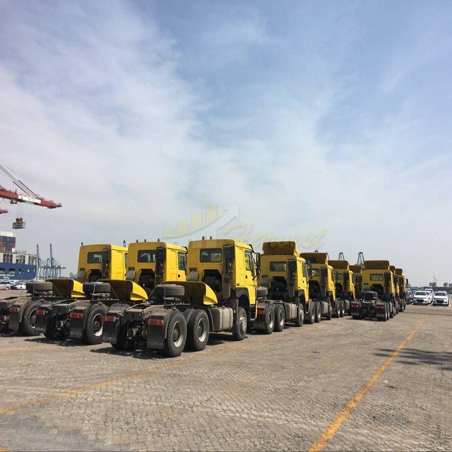 Howo 6x4 371hp Tractor Truck