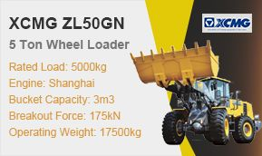 XCMG ZL50GN 5t Wheel Loader