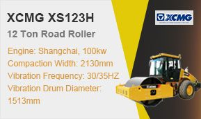 XCMG 12t Hydraulic Roller XS123H