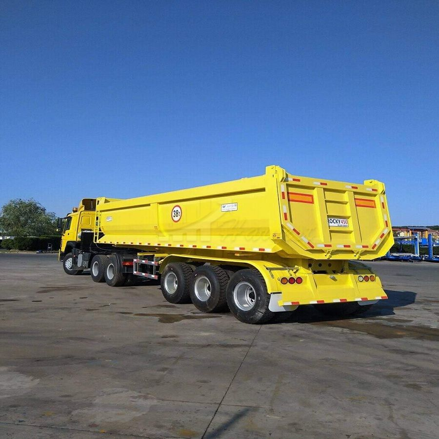 CIMC 45t dump trailer 3 axle from China factory