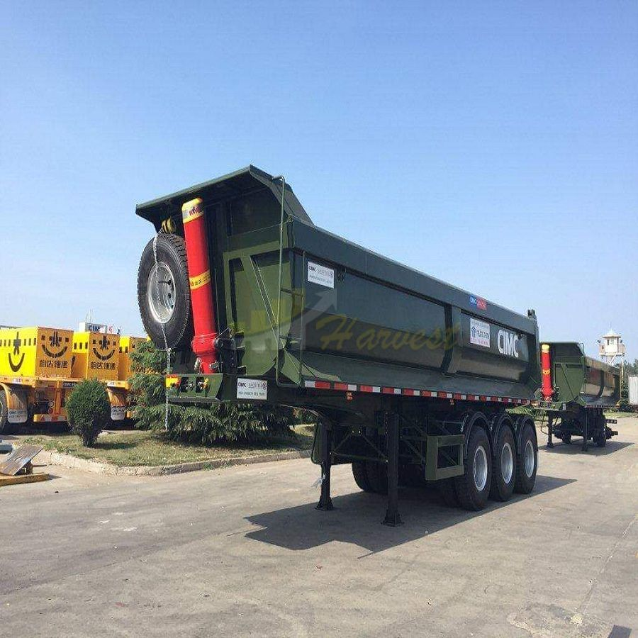 China CIMC 27cbm 40 ton Dump Trailer