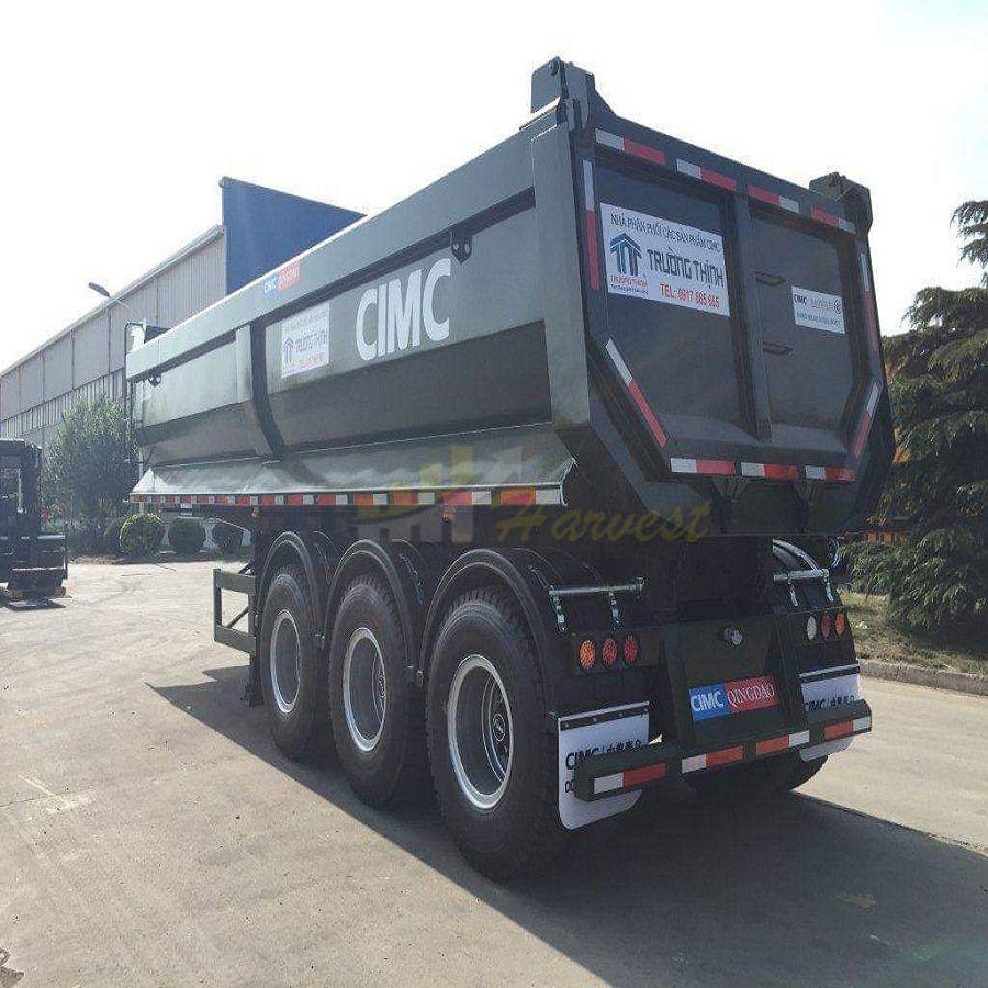 China CIMC 27cbm 40 ton Dump Trailer