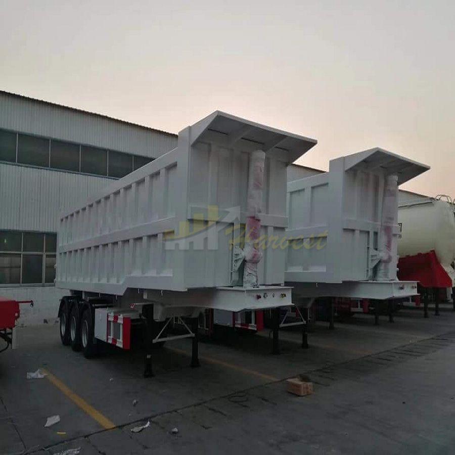 Dump Truck Semi-Trailer