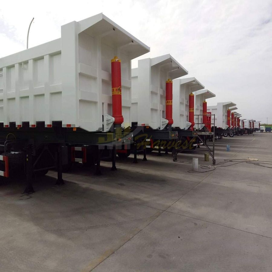 China 3 Axle Dump Semi Trailer for Stone Sand Transport