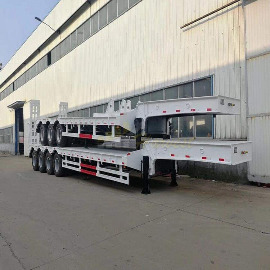 3 Axle Lowboy for Transporting Machines