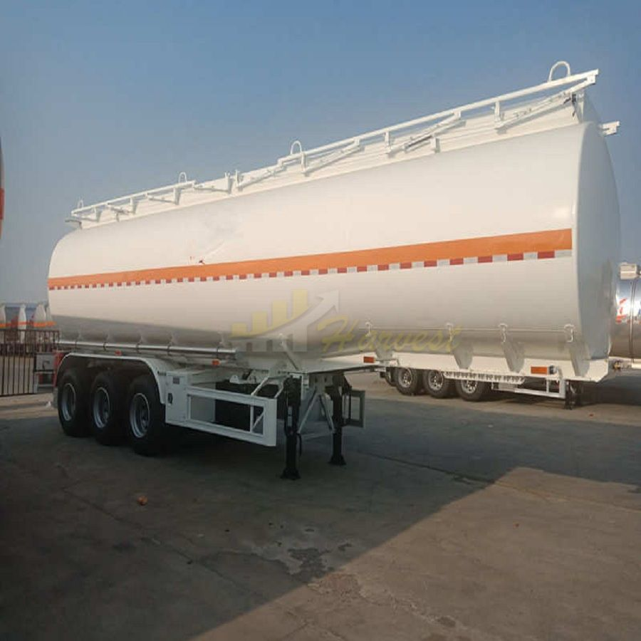 Popular 40,000L 42,000L 3 Axles Petroleum Tankers Trailer