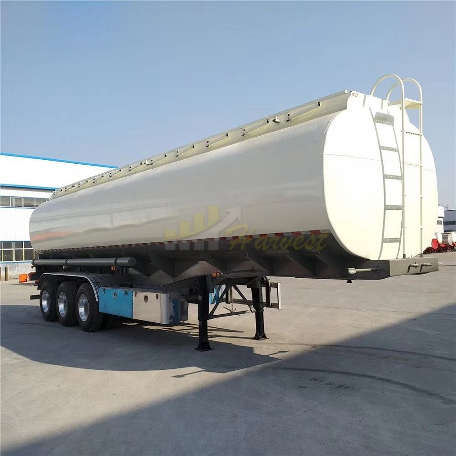 3 axles 42000L 10000 gallon Diesel Oil Tank Tanker Trailer