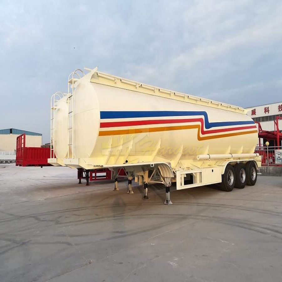 Tanker Trailer 3 Axle 35 ton 42000L Tank Trailer for Sale