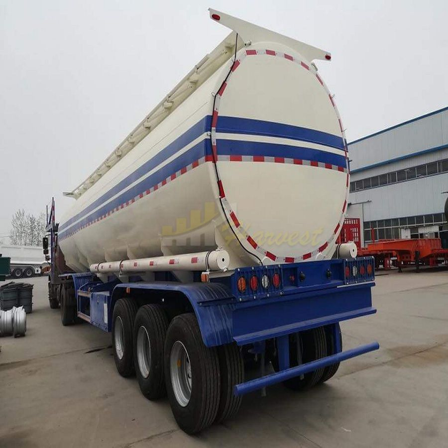 3 Axel 45000 liter Diesel Fuel Tanker Trailer for Sale
