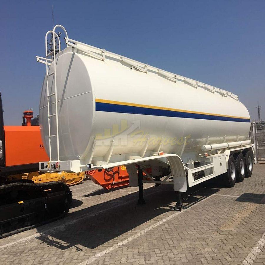 3 Axles 42000L Fuel Tanker Truck Trailer Oil Tanker