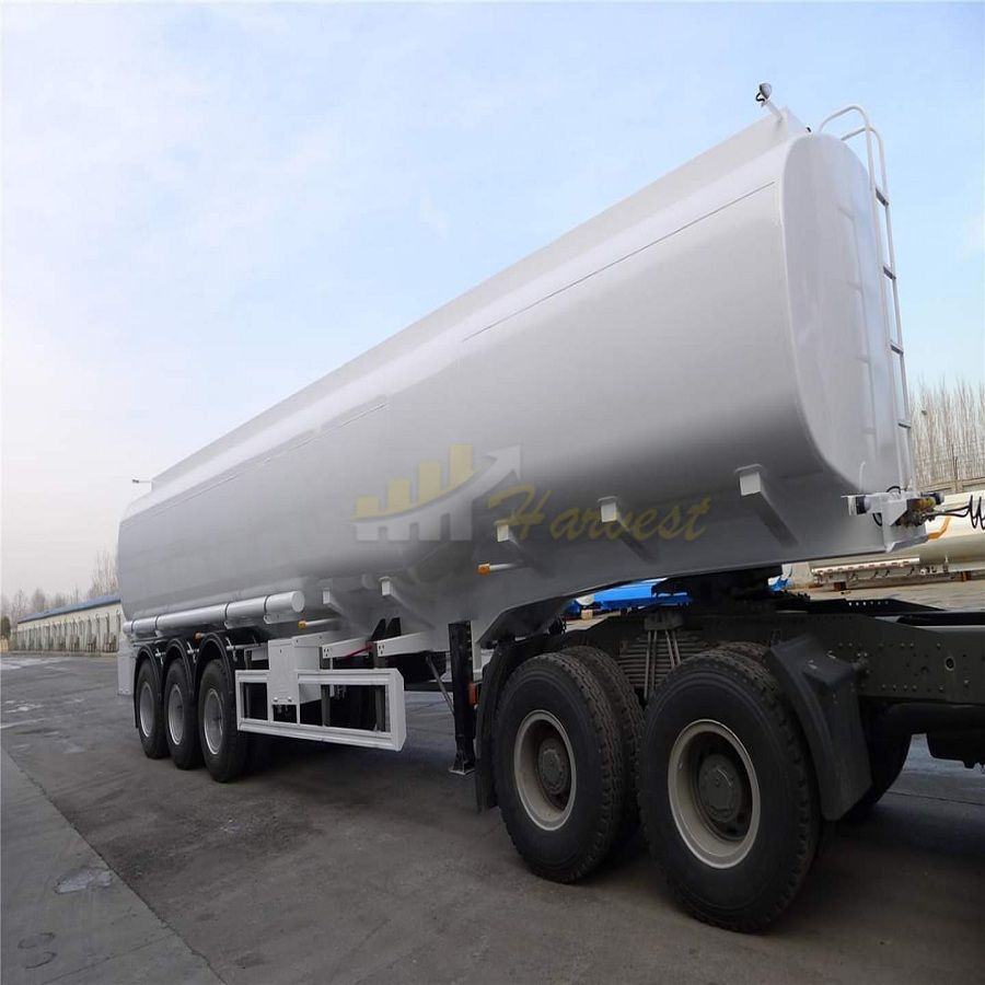 3 Axles 50000L Fuel Tanker Trailer