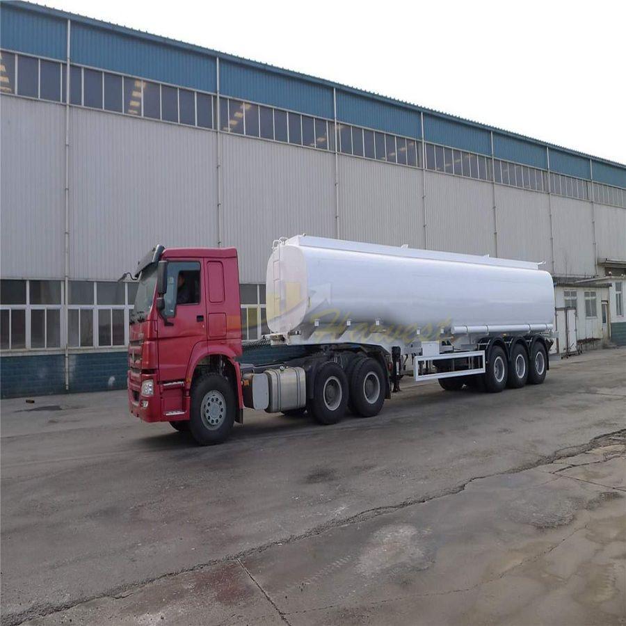 3 Axles 50000L Fuel Tanker Trailer