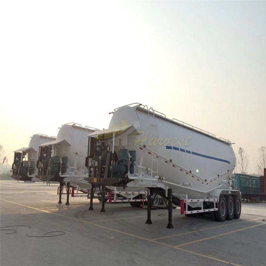 3 Axle Bulk Cement Tanker Trailer for Sale