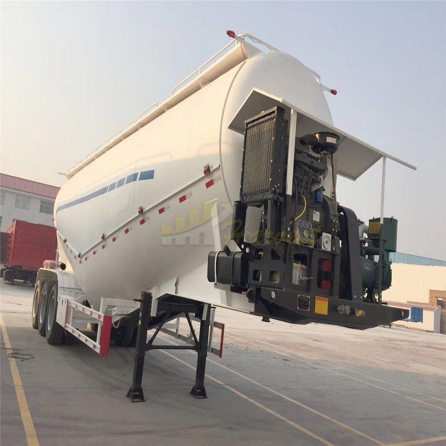Hyuan High Quality 3 Axles 28-60cbm Bulk Cement Trailer