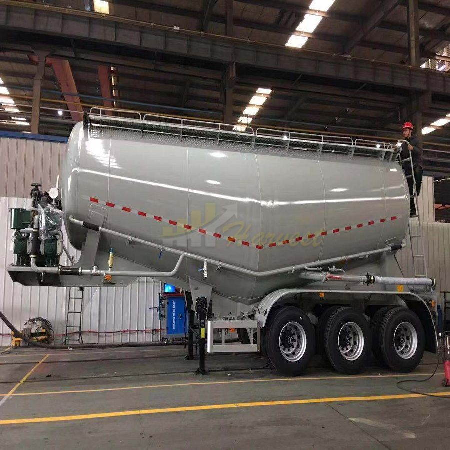 Dry Bulk Powder Cement Tanker Semi Trailer for Sale