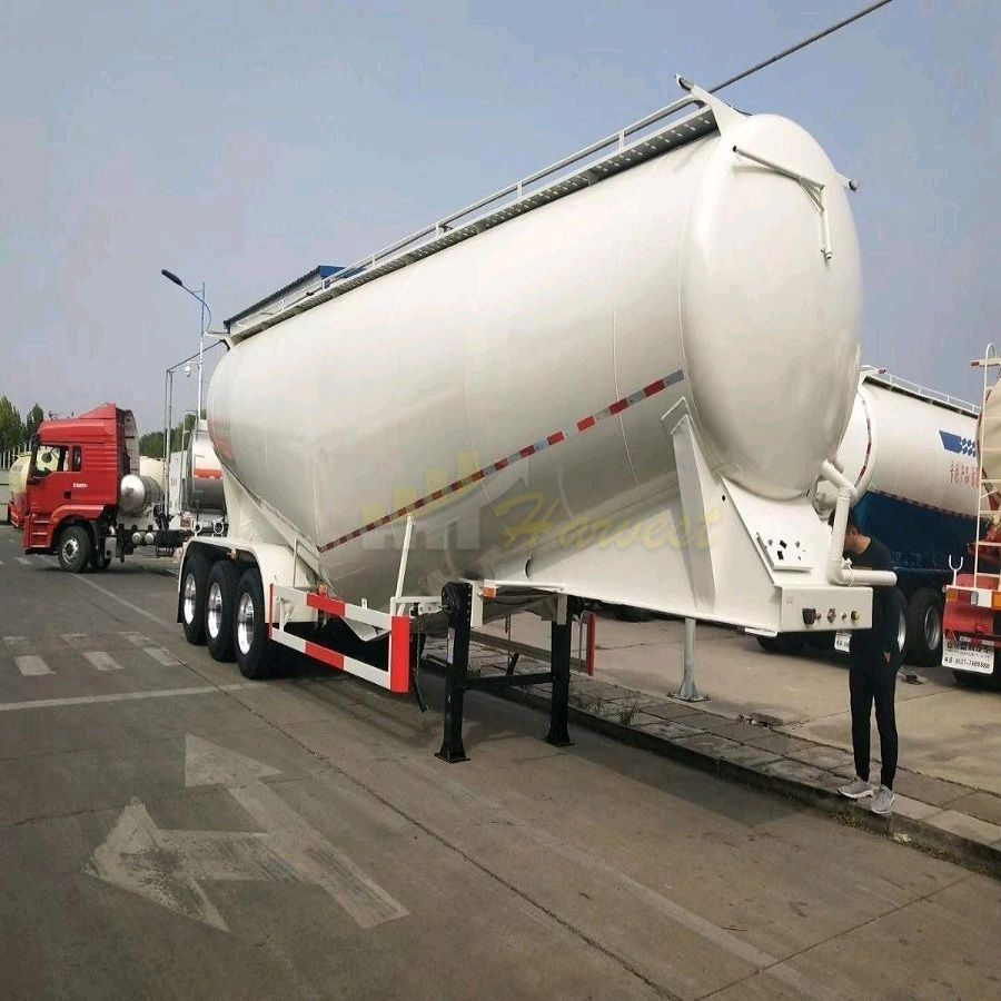 30-60 tons Bulk Cement Transport Tank for UAE