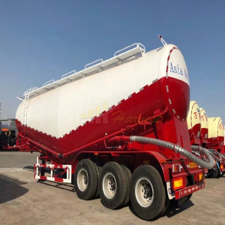 50 tons Semi Trailer Bulk Cement Carrier