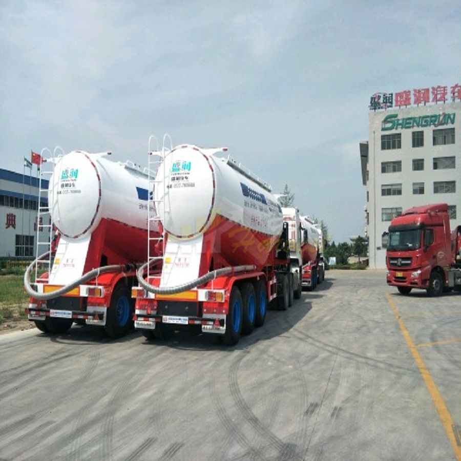 50 tons Semi Trailer Bulk Cement Carrier