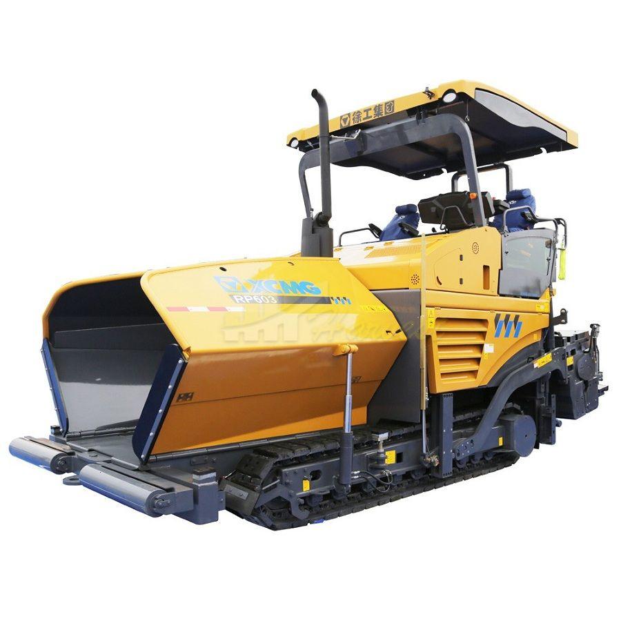 XCMG Asphalt Paver Machine 6m width RP603