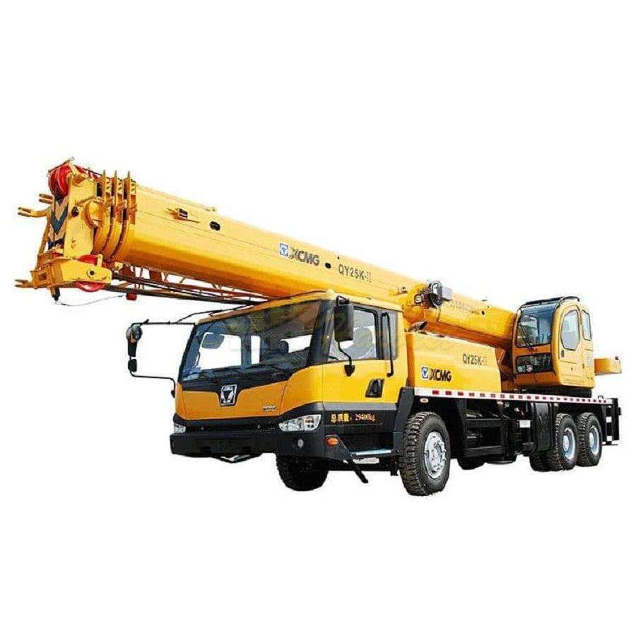 XCMG 25 Ton Truck Crane QY25K-II Mobile Crane in Uzbekistan