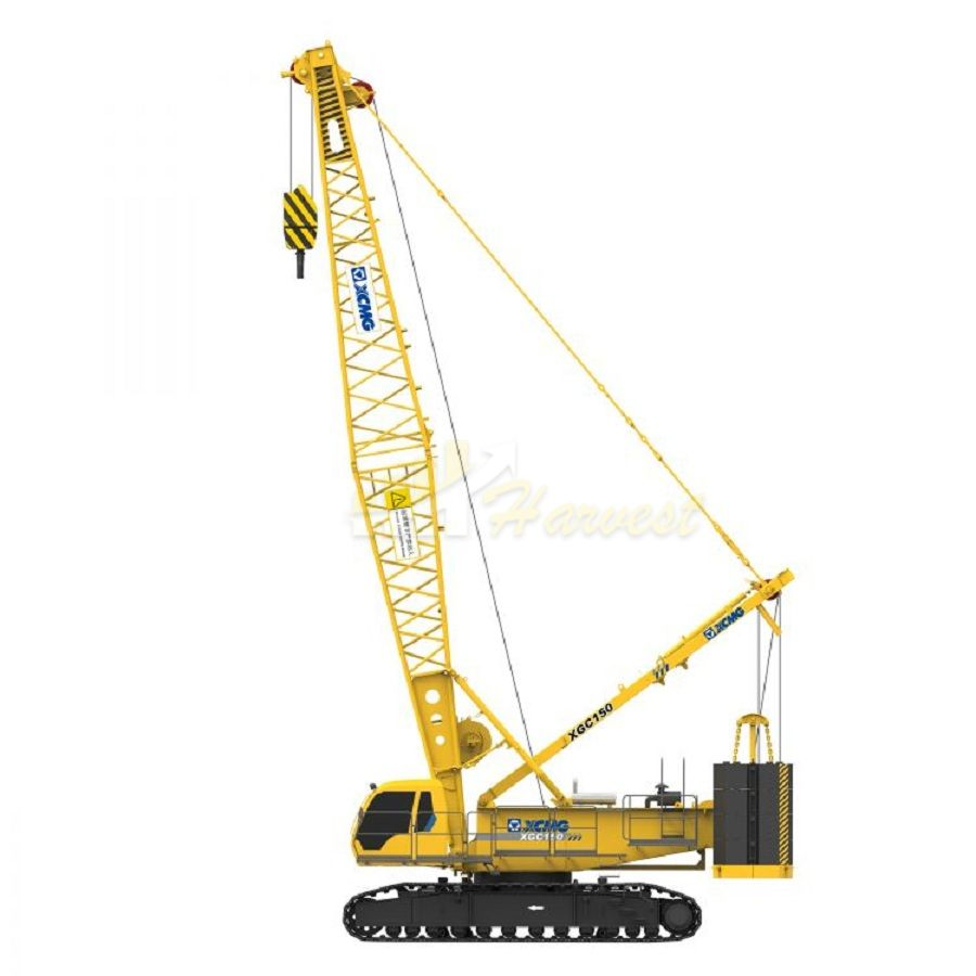 Hot sale 150 Ton Crawler Crane XGC150 With good price