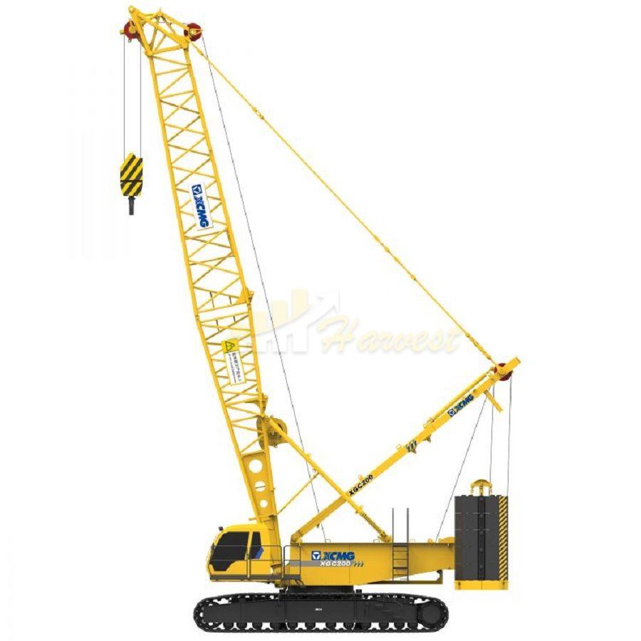 200 Ton Crawler Crane
